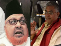 Dilip Ghosh Attacks Imam Barkati On Bjp Rss Issue