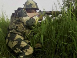 Jammu Kashmir Pakistan Violates Ceasefire Mankote Intermittent Firing Continues