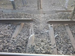 Jharkhand Maoists Blew Up Railway Tracks Near Dhanbad Railway Division