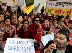 Support Gorkhaland Social Media While Mainland Remains Silent