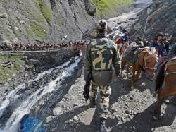 Amarnath Yatra Starts Amid Tight Security Terror Threat