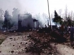 Killed 8 Critically Injured Balaghat Firecracker Factory Blast