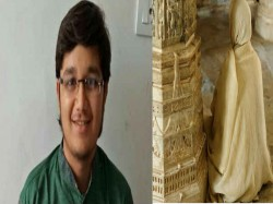 Boy Tops Class 12th Exams Gujarat Then Becomes Jain Monk