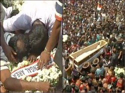 Martyr Jawan Dipak Maity S Body Was Returned Home At Sabang West Midnapur