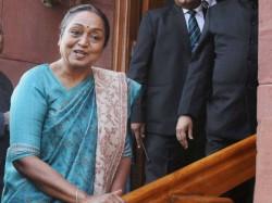 Presidential Elections 2017 Three Reasons Why Meira Kumar Chosen Congress