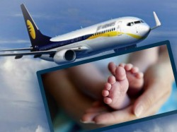 Kerala Woman Gave Birth 35000 Above Jet Airways Flight