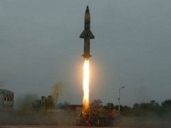 Prithvi Ii Missile Successfully Test Fired From Odisha