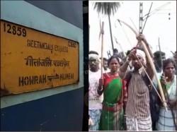 Rail Blockade At Kharagpur Adra Division South Eastern Railway