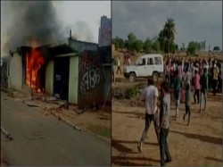 Man Beaten Up On Suspicion Cow Slaughter House Set On Fire