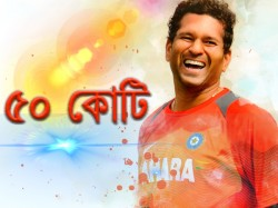 Sachin Hits Half Century With Billion Dreams