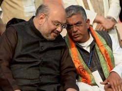 Amit Shah Calls State President Dilip Ghosh