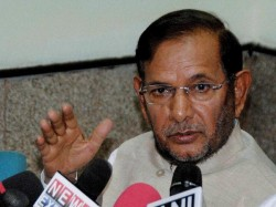 Sharad Yadav Not Happy With Nitish Kumar Decision
