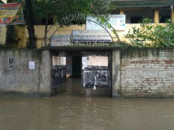 Current Flood Update Behala South Kolkata