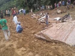 People Died A Massive Landslide Arunachal Pradesh