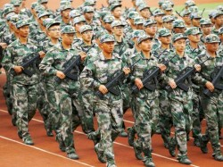 Chinese Army Conducts Live Fire Drills Tibet