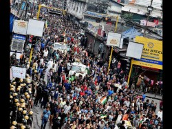 A Gjm Supporter Died On Clash With Police Darjeeling Unrest Becomes Worse
