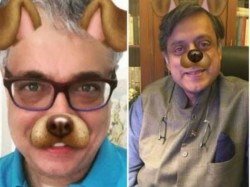 Tharoor Derek Post Dog Filter Pics Twitter Defend Aib Meme
