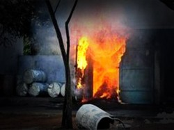 One Killed An Explosion Fire Cracker Factory At Champahati South 24 Parganas