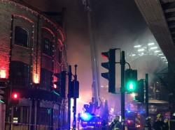 Massive Fire Breaks At Camden Lock Market London