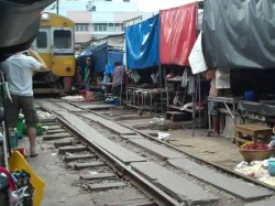 Train Enters Into The Market Three People Are Died