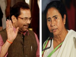 Union Minister Naqvi Slams Mamata Over Her Clash With Governor