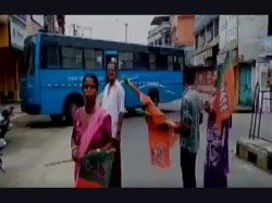 Bandh Called Bjp Due Death Party Worker Clash With Tmc