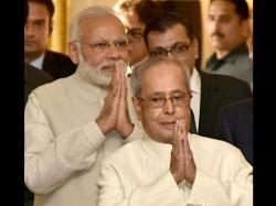 Pranab Mukherjee Cared Me Like Father Would Pm Modi