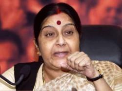 Pok Part India Pakistan S Visa Rules Don T Apply Sushma Swaraj