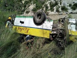 Killed As Bus Falls Into Gorge Himachal Pradesh