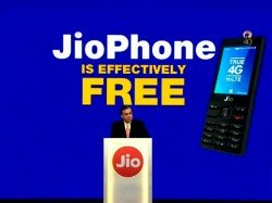 Jiophone Will Be Available An Effective Price Rs 0 Says Mukesh Ambani