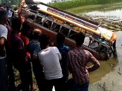 Bus Accident Occur At Tehatta Nadia