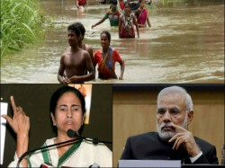 Pm Modi Visits Flood Hit Bihar Why Is He Ignorant On Mamata Banerjee S Bengal