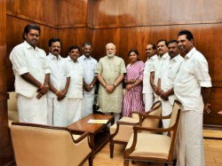 Bjp Is Pushing Aiadmk Factions Merger Hopes Party Will Join Nda