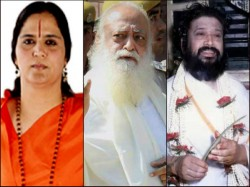 Gurmit Ram Rahim Is The Latest Inclusion See The List Controversial Self Made Godmen Of India