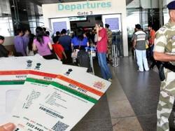 Airport Entry Permits Soon Be Verified Aadhaar
