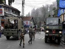 Explosion Near Sukhiapokhri Police Station Darjeeling