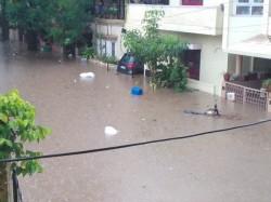 Rains Lash City Several Areas Waterlogged Bangalore