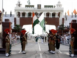 Ahead Independence Day Pakistan Hoist Largest National Flag Wagha