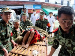 Quake Strikes Sichuan Province China