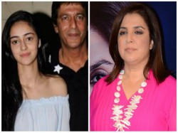 Farah Khan Asks Chunky Pandey S Daughter Do Dna Test Here Is The Reason