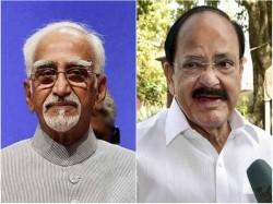 Hamid Ansari Venkaiah Naidu Lock Horns Over Minority Insecure Remarks