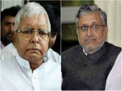 Lalu Demands Sushil Modi Be Sacked Arrested
