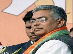 Bjp State President Dilip Ghosh Threatens Destabilise Tmc