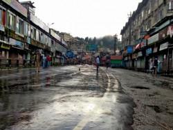 Gjm Withdraws Hill Strike Till 12 September At Darjeeling Bimal Gurung Unhappy