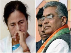 Dilip Ghosh Blames Cm Mamata Banerjee As Witch