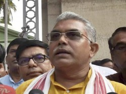 Tmc Candidate Suddenly Appears Dilip Ghosh S Meeting At Durgapur