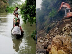 North Bengal Is Destroyed Due To Flood Mountain Collapse
