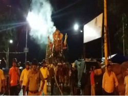 Men Dies At The Time Immersion At Bajekadamtala Ghat Kolkata
