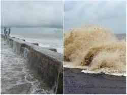Tourists Are Ban Sea Beach Digha Heavy Tide