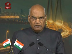 President Mentions New India His Maiden Speech Towards Nation